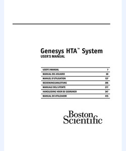 Genesys HTA System User's Manual
